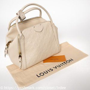 LOUIS VUITTON Monogram Marais Empreinte MM